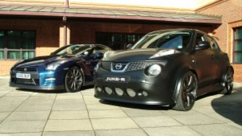 The JUKE-R and the GTROC meet for the first time