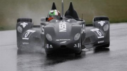 Deltawing testing in the wet