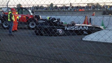 Delta Wing Le Mans story ends