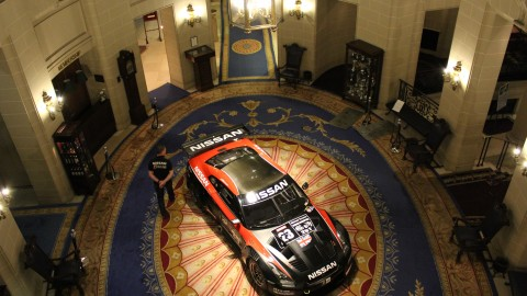 GT1 GT-R in the RAC at Pall Mall