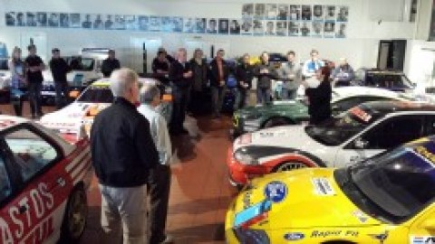 GTROC tour of the Prodrive facility and WRC and Aston Martin racing workshops