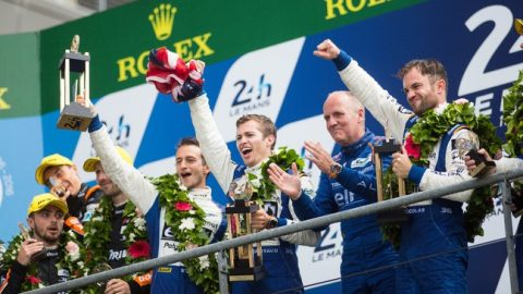 Nissan Signs Off LM P2 Class at LeMans with 5th Class Victory !