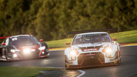 NIssan Battles at Spa as both GT-Rs make the Chequered Flag