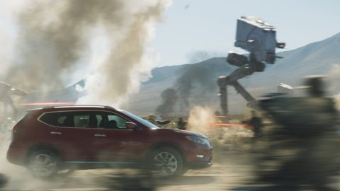Nissans Ad for the new Rogue takes on the Galaxy